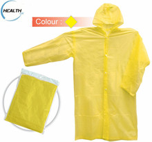 adult rain cape/pvc poncho/pvc waterproof long raincoat