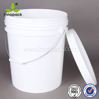 cheap plastic 5 gallon bucket paint/coating container