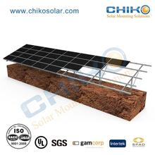 solar pile pv mounts fixing ground structure racks