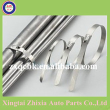 Wonderful price !! 2015 Zhixia Xingtai stainless steel cable tie/metal cable tie /plastic cable tie straps