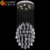 2016 New Design Popular Modern rectrangle Crystal Chandelier CE guzhen chandelier manufacturer OM88451