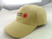 Canada promotion profession worker cap Top quality cotton baseball cap with logo