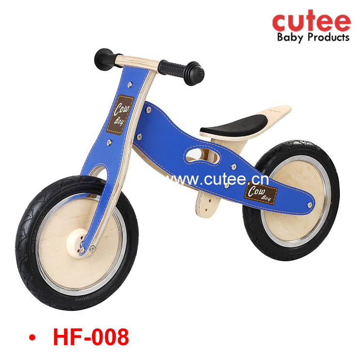 Good Quality Child Wooden Bicycle,Kids Walking Bicycle,Children Wood Bike