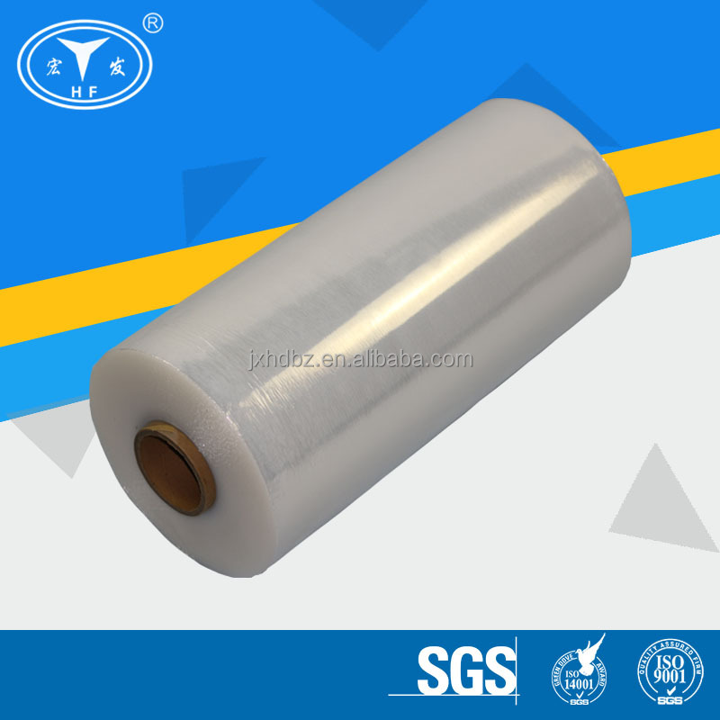 Clear PE Machine Plastic Stretch Film For Pallet Wrapping