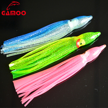 Hot Selling 3g 10.5cm Soft Lure Squid Skirts Various Colors Soft Fishing Lure