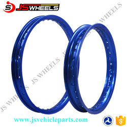 18/19Inch Color Anodized Rear wheel rims for YZ125 YZF250 Sport motocycle