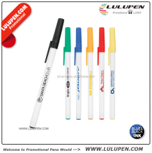The Smart Stick Ballpoint Tradition Pen Promotional Plastic Stick Pens (Lu-9042)