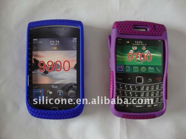 Colorful PC Protector Case for Mobile phone Blackberry 9800