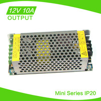 Constant Voltage ac dc 12v 10 amp power supply factory wholesale CE ROHS approval
