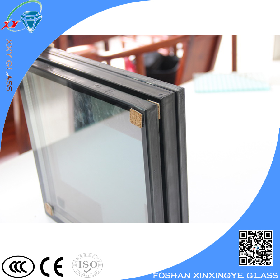 Toughened Reflective insulated glass unit price for curtain wall