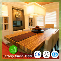 Bamboo Plywood Table Top Wood Kitchen
