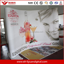 aero retractable flax roll up banner stand