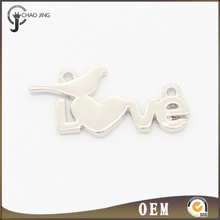 Customized logo alloy metal name plate/ tag/ label for handbags/ luggage