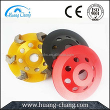 Cup Wheel Diamond Metal Polishing Pads For Concrete