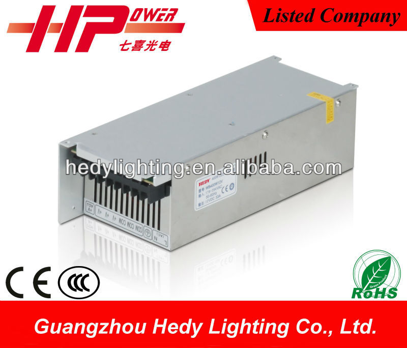 Guangdong factory hot sell high efficiency 400w 15v switching power supply adapter with CE RoHS