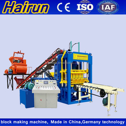 2015 super low cost ! QT4-15C automatic fly ash brick making machine made in China