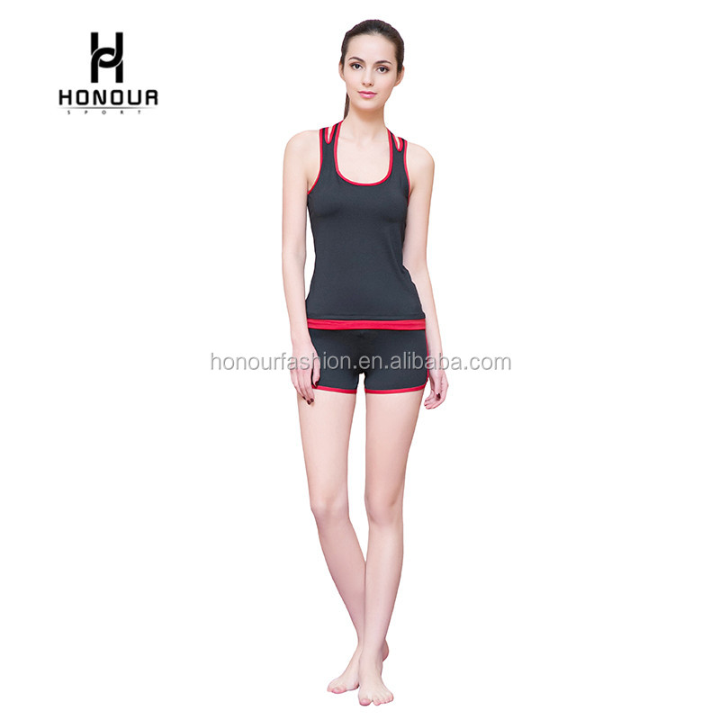 Two Pieces Women Active Sports Sexy Track Suits GYM Wear Tracksuits Wear