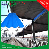 Fire Resistant Big Wave Heat Insulation MgO Roof Tiles