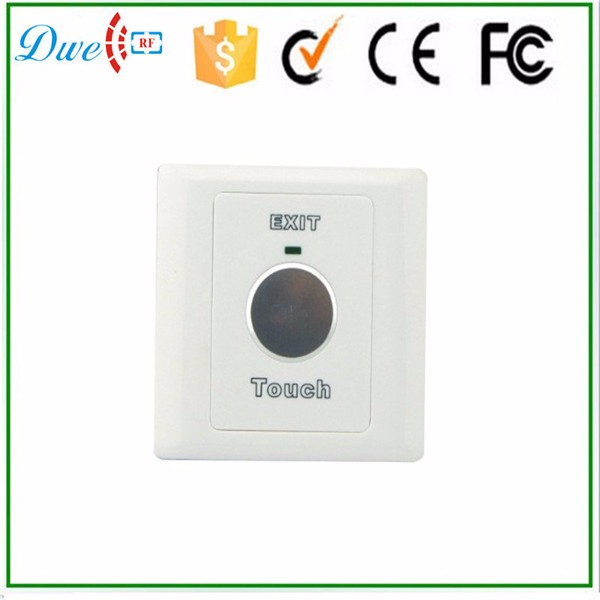 12V touch sensor 6 pin push button switch with NO NC COM output