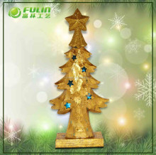 2015 Garden Supply Resin Artificial Christmas Tree Decoration