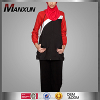 Middle East Ladies Sportswear Good Quality Gym Suit Muslim Casual Tops Wholesale China