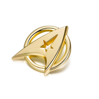 Star Trek Badge Medical Cross jewelry High Quality Pins Classic Women Men Brooches