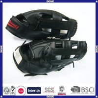 china made good quality cheap Japanese leather baseball glove