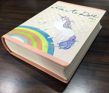 Round back hardcover book printing service