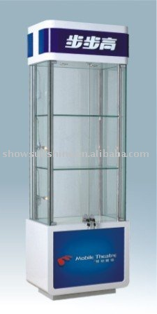 Mobile phone display stand soft drink display racks
