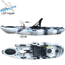 Hot Selling LLDPE Single Fishing Kayak Sit On Top motor Kayak /kayak with motor