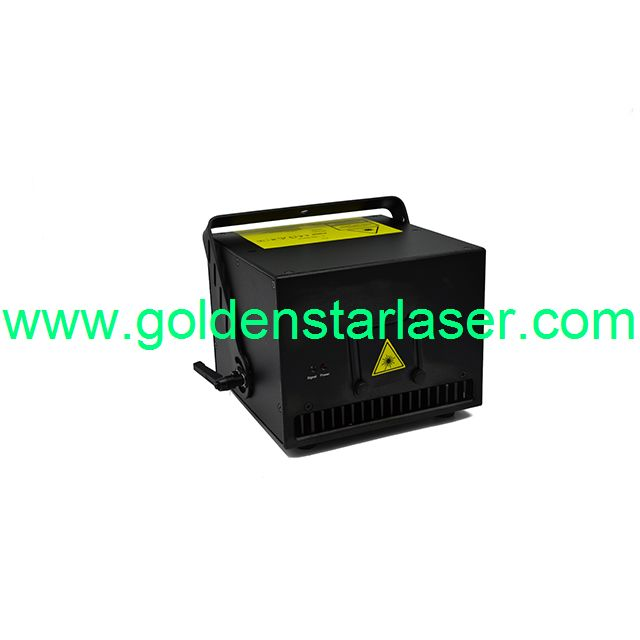 full color RGB3000mw laser show disco laser projector