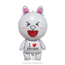 Cony Rabbit foil balloon for wedding/party/birthday decoration