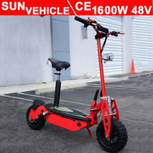 EVO 1600W 48V brushless motor electric scooter for adult with CE