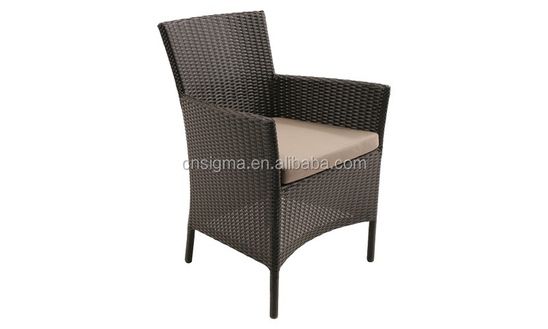 2017 Trade Assurance Most Popular Simple Design cheap pe rattan chair