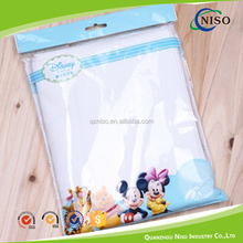 Top quality plastic packing bag for baby diaper raw material
