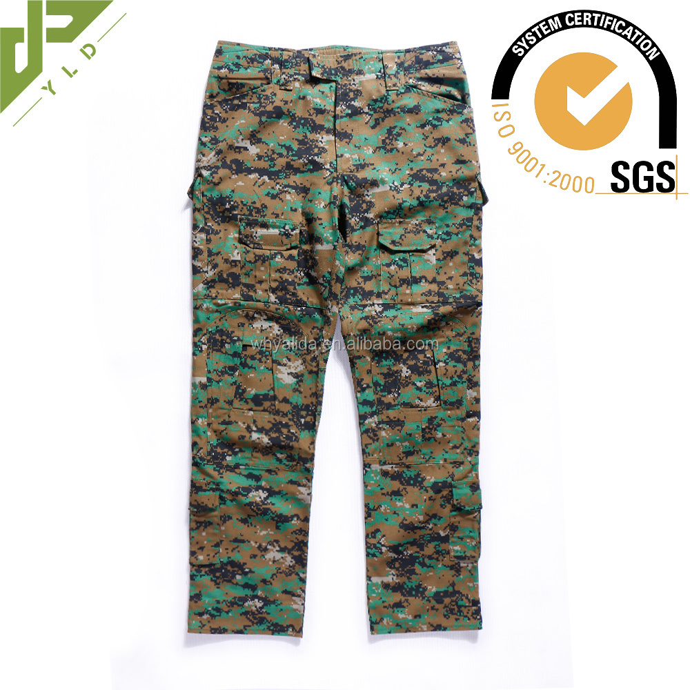 antiflaming tactical cargo military pants pockets