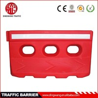 Blowing molding traffic barrier road safety products