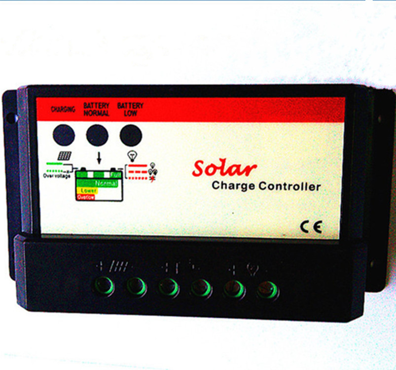 wind generator battery solar street light charge controller 12V/24VDC Light&Timer Charger 10A