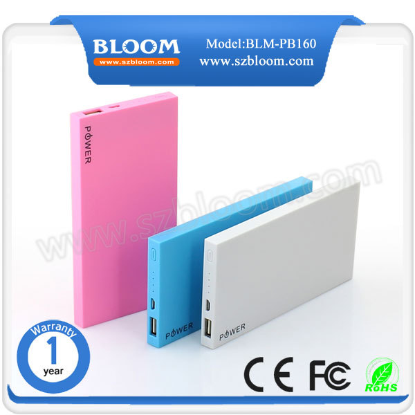 DIGIBLOOM new 2017 innovative product portable slim powerbank 10000 mah