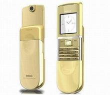 Hot sale mobile phone 8800 sirocco -g original brand phone 8800 sirocco gold