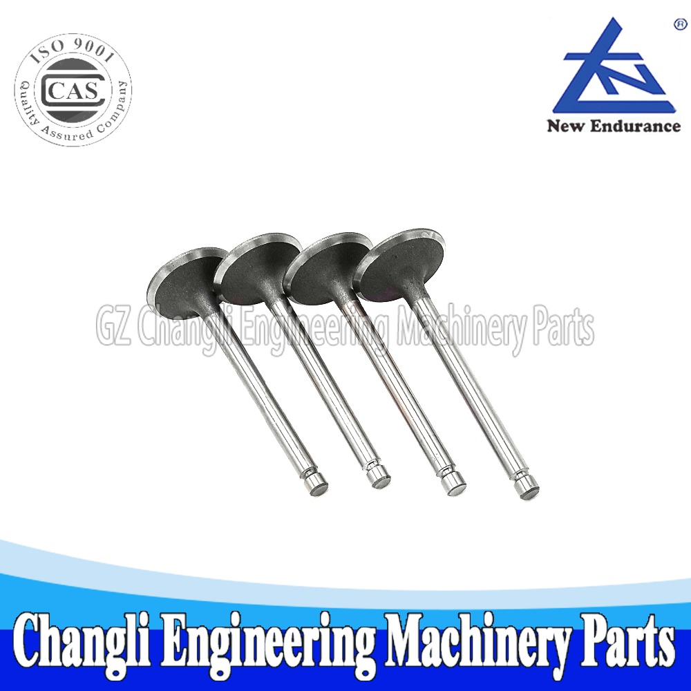 JD Jiangdong Engine Parts JD4102 Intake Valve For Forklift Engines