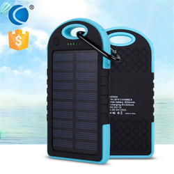 Hottest selling! 5000mAh USB latop Solar Charger, Portable solar panel for smart phones and powerbanks