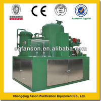 Filter-free technology 100% carbon and water removal used motor oil regeneration plant