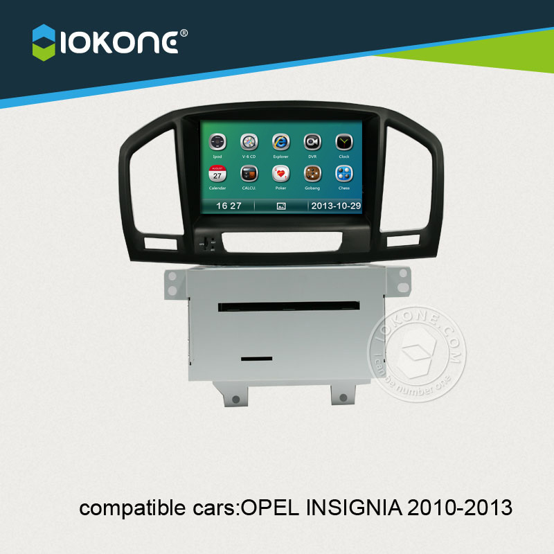 China factory offer OEM Central multimedia For Opel Insignia 2010 to 2013