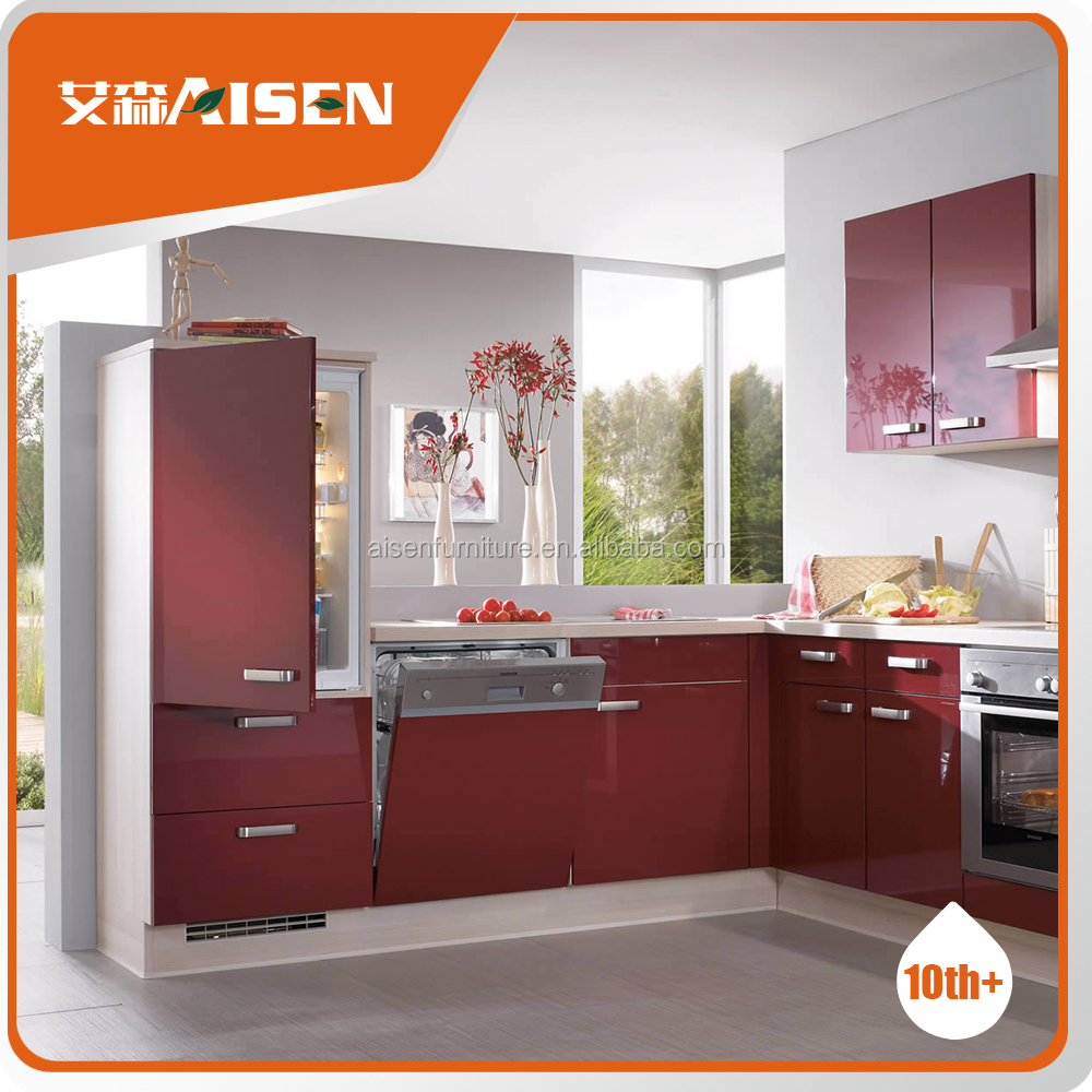 prefabricated homes customize mini kitchen cabinet with