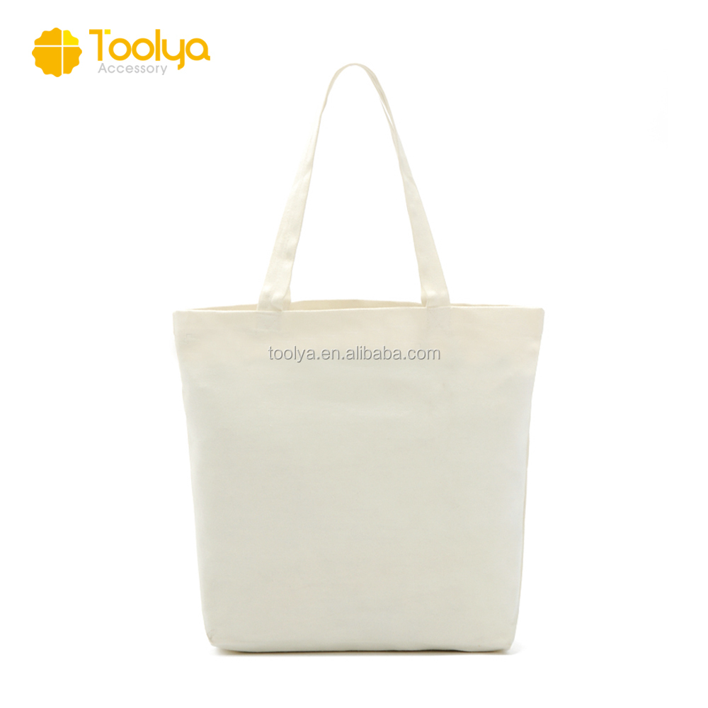 Eco-friendly cotton canvas shopping canvas tote bags