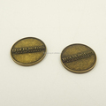 customized Antique Brass metal coins
