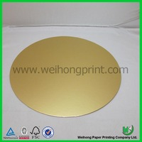 customized size silver and golden cake board made in China