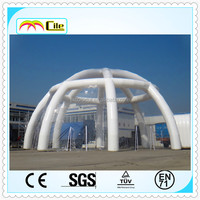 CILE 2015 hot selling inflatable transparent tent/canopy tent/clear inflatable tent