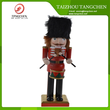 Custom Christmas Item Handmade Wooden Christmas Craft on the Shelf Toy Soldier Walnut Nutcracker Christmas Decorations